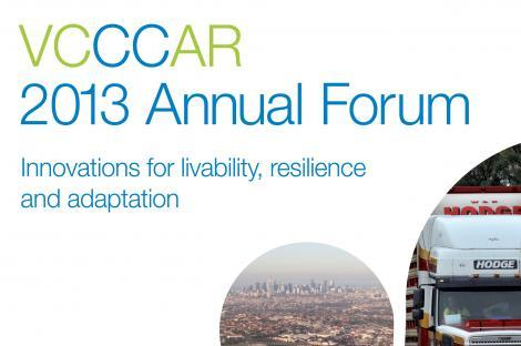 VCCCAR 2013 Annual Forum