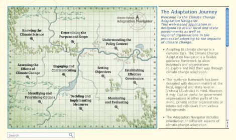 Navigotor home page image
